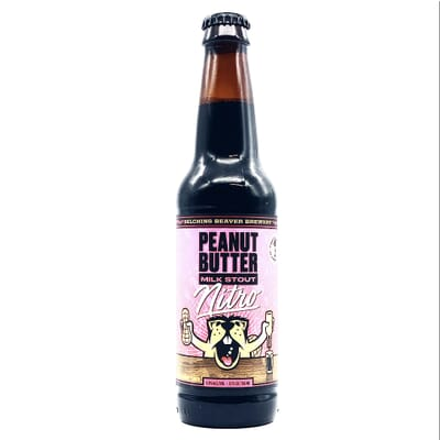 Peanut Butter Nitro Stout by Belching Beaver Brewery