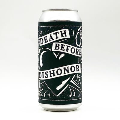 Death Before Dishonor by Black Iris Brewery
